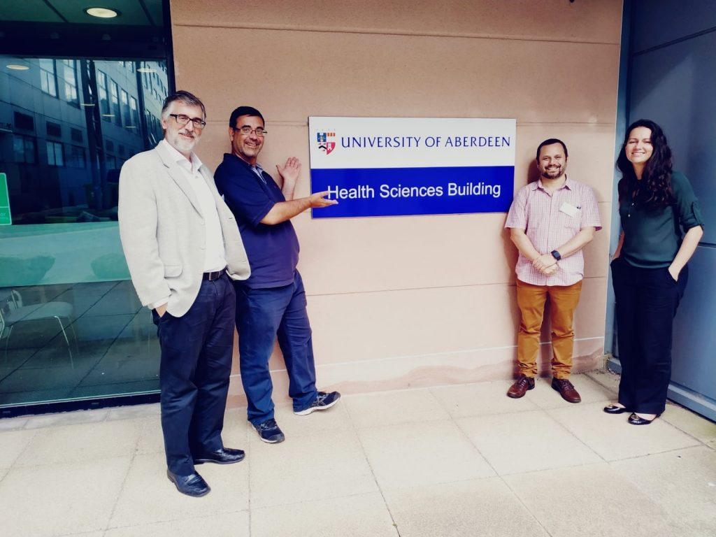 Pesquisadores se reúnem no Aberdeen Centre for Health Data Science para criação de parceria com Inteligência Artificial
